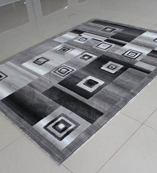 Gray Area Rug Rug Size: Runner 2' x 7'2