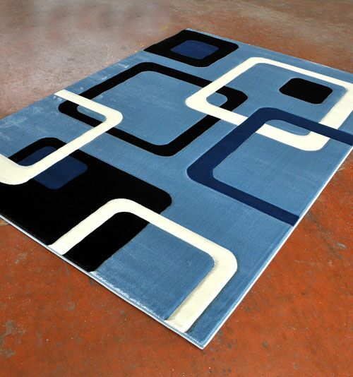 Light Blue Area Rug Rug Size: Runner 2' x 7'2