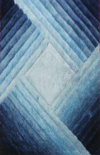 Sampada Blue Area Rug Rug Size: 4' x 6'