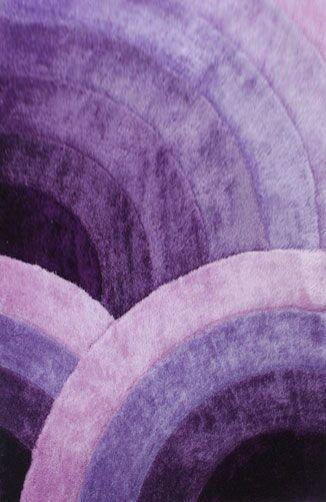 Zaquan Purple Area Rug Rug Size: 3' x 5'