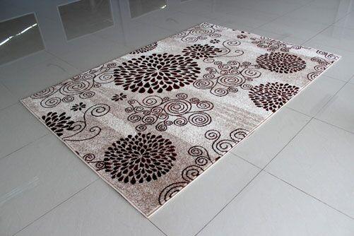 Berber Area Rug Rug Size: 5'3