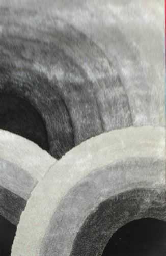 Geza Gray Area Rug Rug Size: 4' x 6'