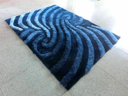 Blue Area Rug Rug Size: 7'11