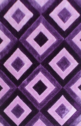 Wimberly Purple Area Rug Rug Size: 4' x 6'
