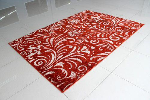 Terracotta Area Rug Rug Size: 7'11