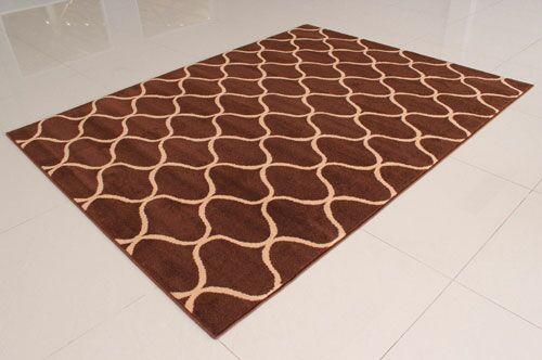 Brown Area Rug Rug Size: 4' x 6'