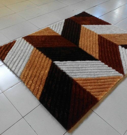 Brown Area Rug Rug Size: 7'11