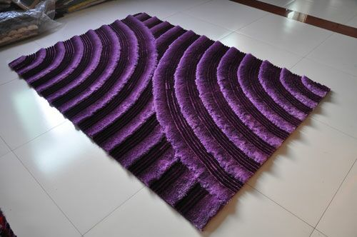 Purple Area Rug Rug Size: 7'11