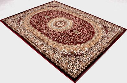 Red Area Rug Rug Size: 10' x 13'