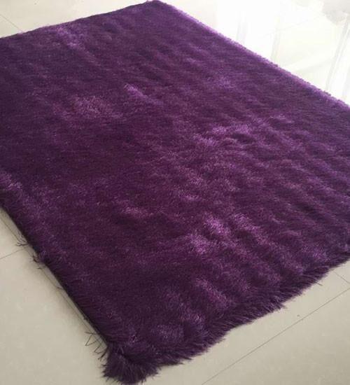 Hahn Purple Area Rug Rug Size: 5'3
