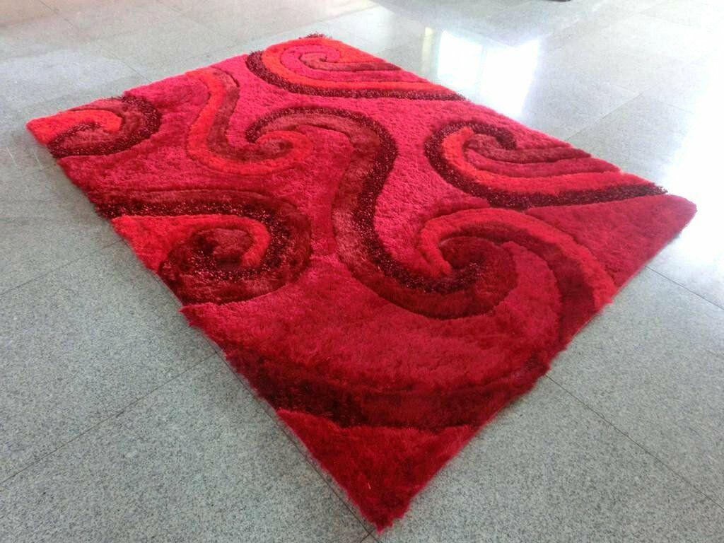 Savitha Red Area Rug Rug Size: 7' x 10'