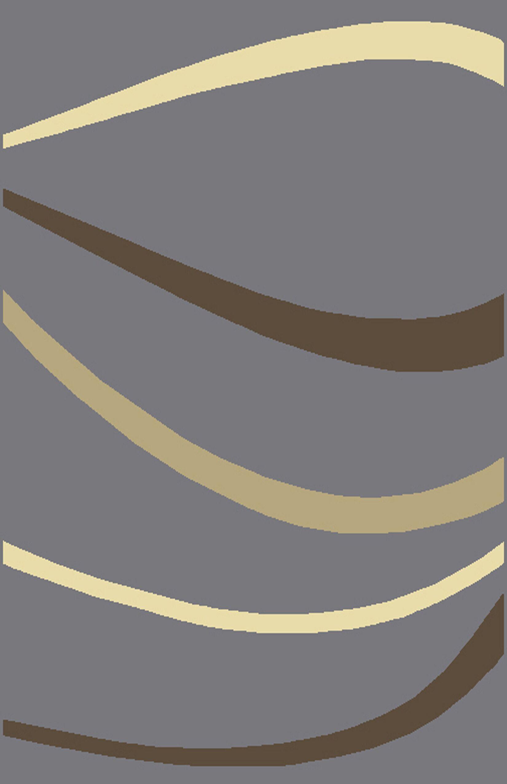 Rhannon Gray Area Rug Rug Size: 7'11