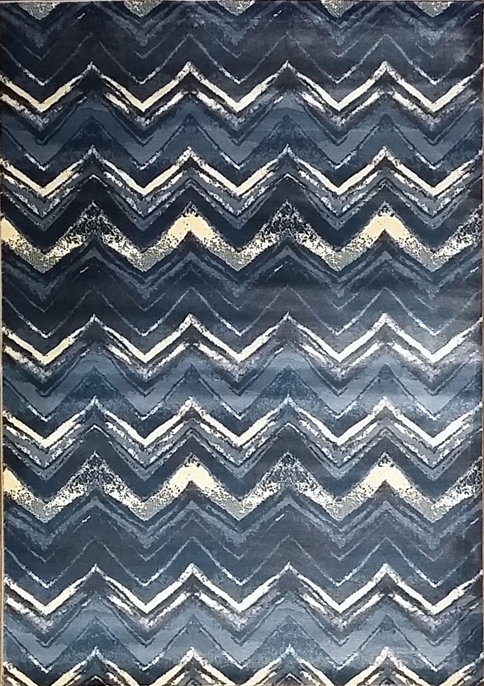 Geren Light Blue Area Rug Rug Size: 10' x 13'