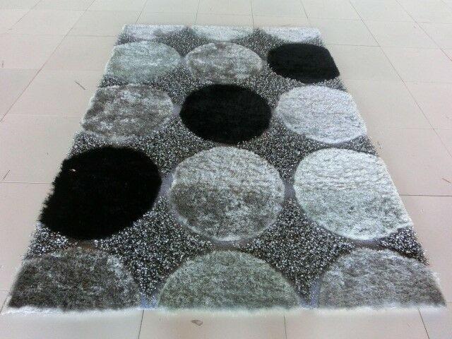 Aysegul Black/Gray Area Rug Rug Size: 10' x 13'