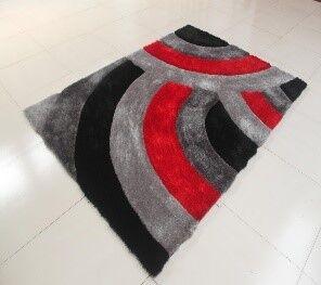 Kishor Stain Resistant Black/Gray Area Rug Rug Size: 7'11
