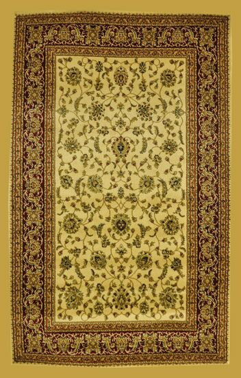 Priestley Ivory Area Rug Rug Size: Rectangle 7'11