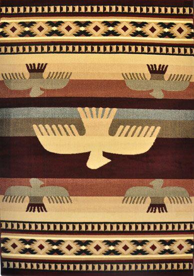 Elizabella Burgundy Area Rug Rug Size: 4' x 6'