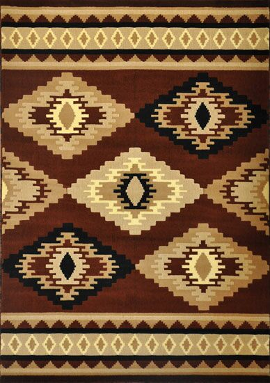 Dunder Brown Area Rug Rug Size: 4' x 6'