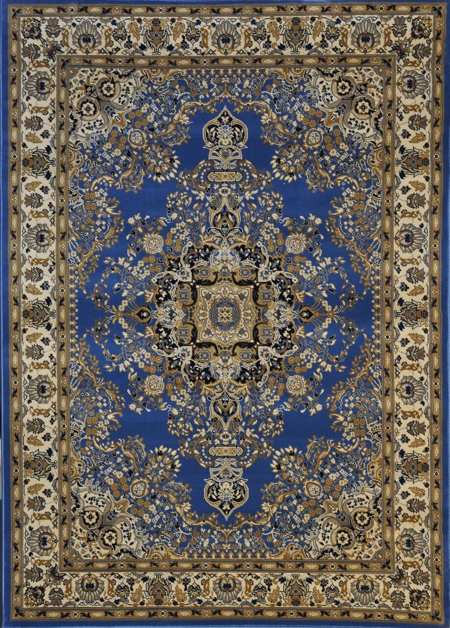 Redbridge Light Blue Area Rug Rug Size: Runner 2'7