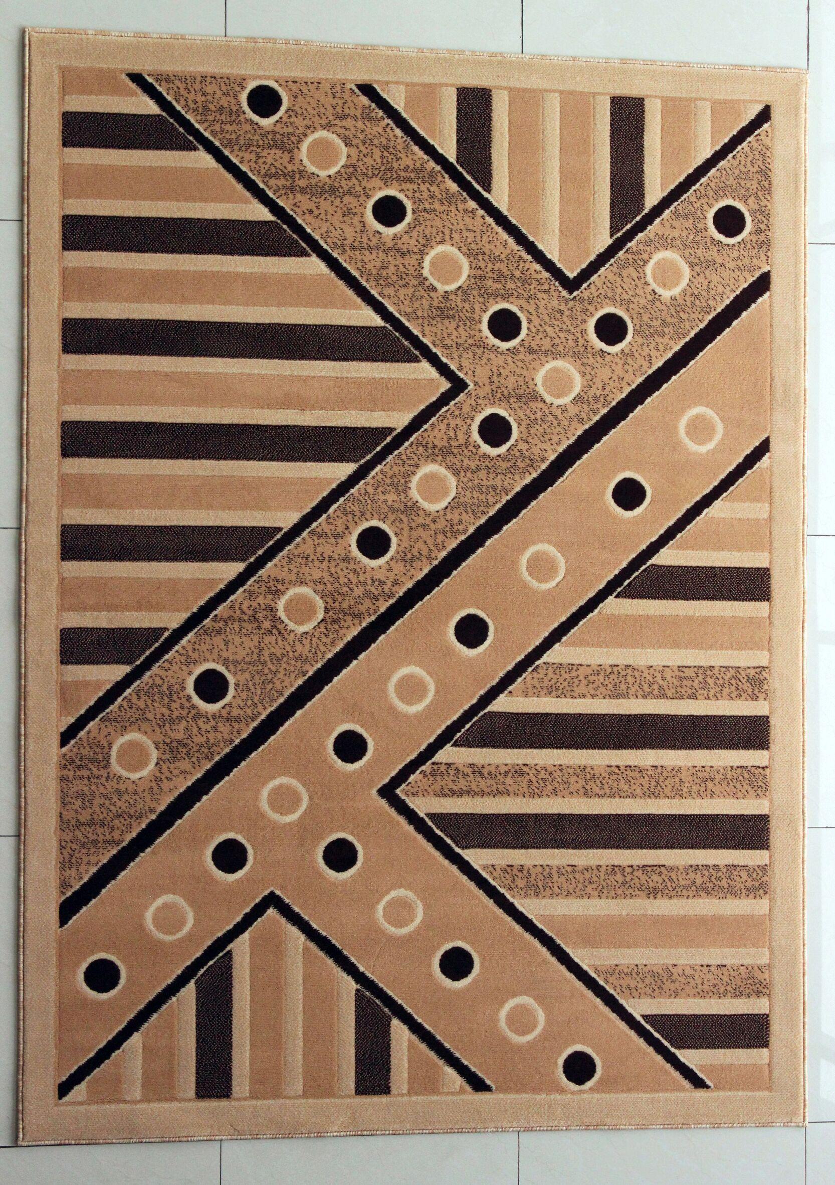 Giada Berber Area Rug Rug Size: 2' x 3'
