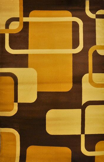 Phindile Brown Area Rug Rug Size: 5'3
