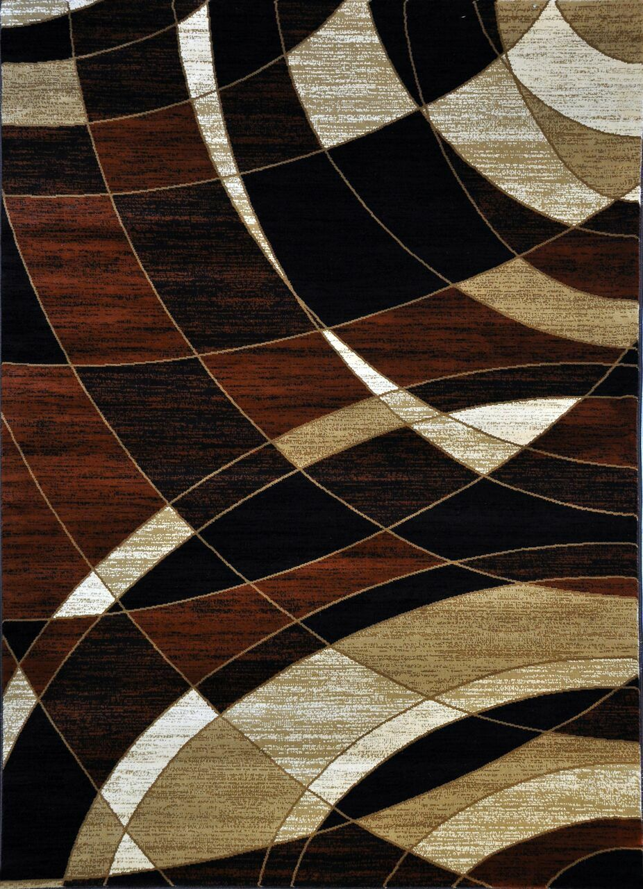 Cotton Brown Area Rug Rug Size: 10' x 13'