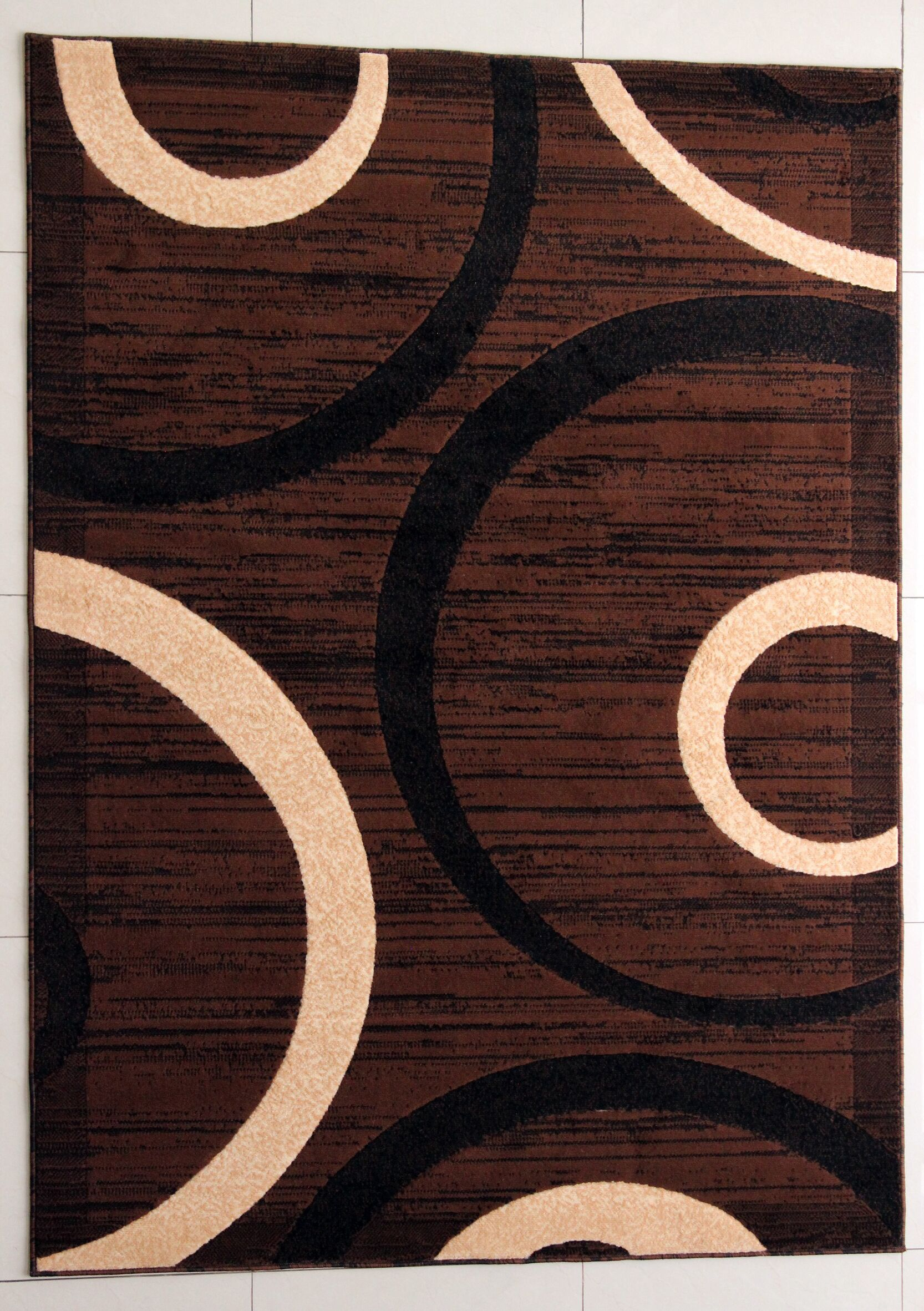 Pearsons Brown Area Rug Rug Size: 7'11