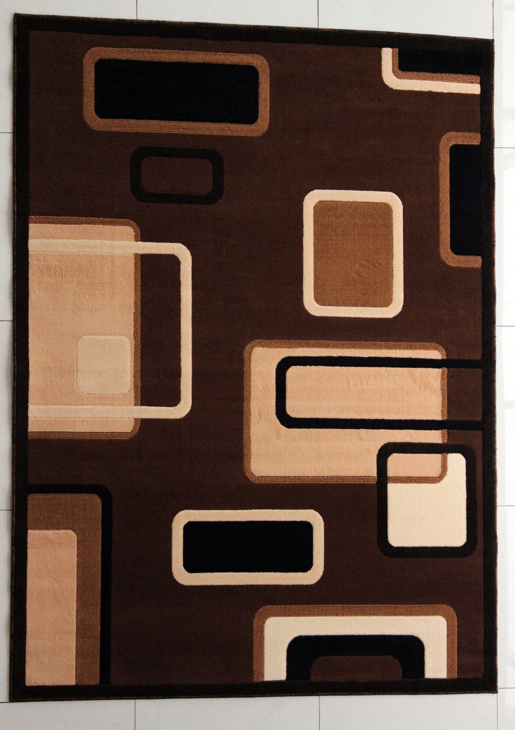 Schenck Brown Area Rug Rug Size: 10' x 13'