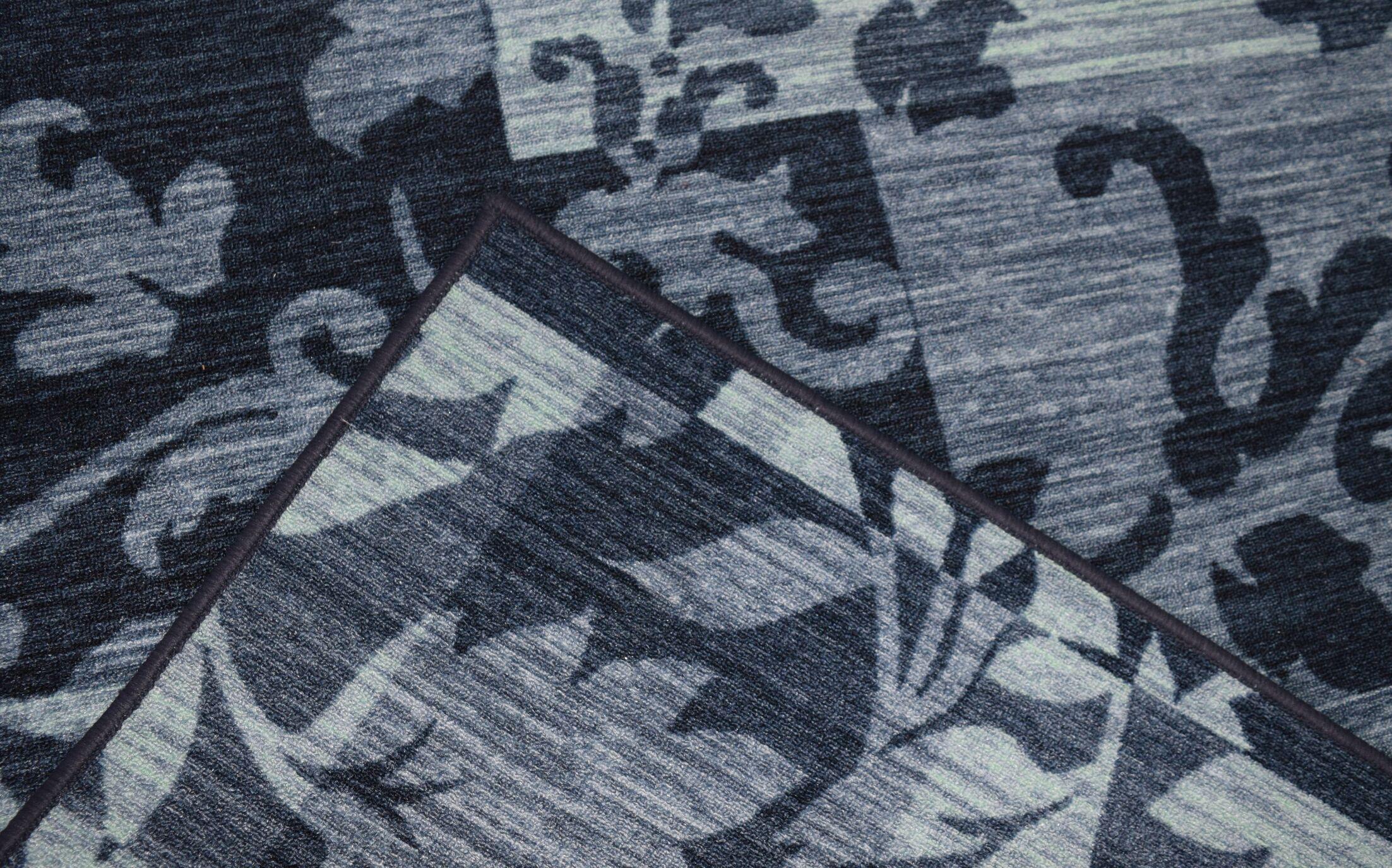 JonPaul Modern Blue Area Rug Rug Size: Runner 2'7