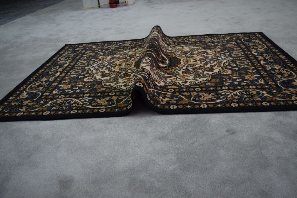 Mcelhannon Brown/Red Area Rug Rug Size: Rectangle 7'11