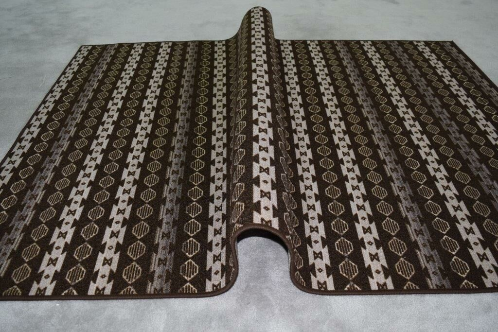Idalia Wool Brown/Beige Area Rug Rug Size: Rectangle 2'7