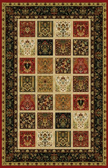 Germencik Stain Resistant Red Area Rug Rug Size: Runner 2'7