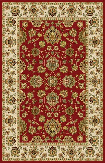 Gio Red Area Rug Rug Size: Runner 2'7