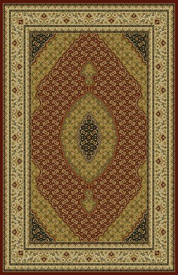 Bosquet Red Area Rug Rug Size:  7'11