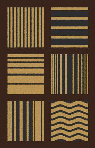 Bontrager Brown Area Rug Rug Size: 7'11