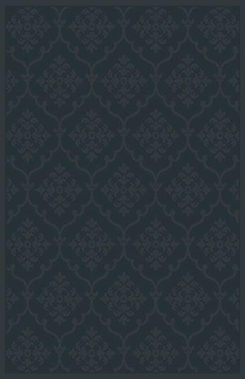 Starla Black Area Rug Rug Size: 5'3