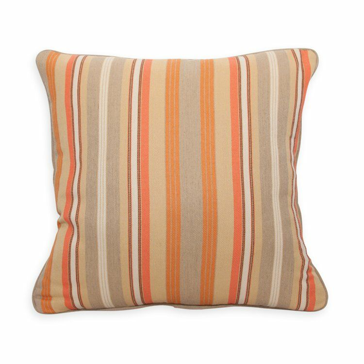 Column Mandarin Throw Pillow