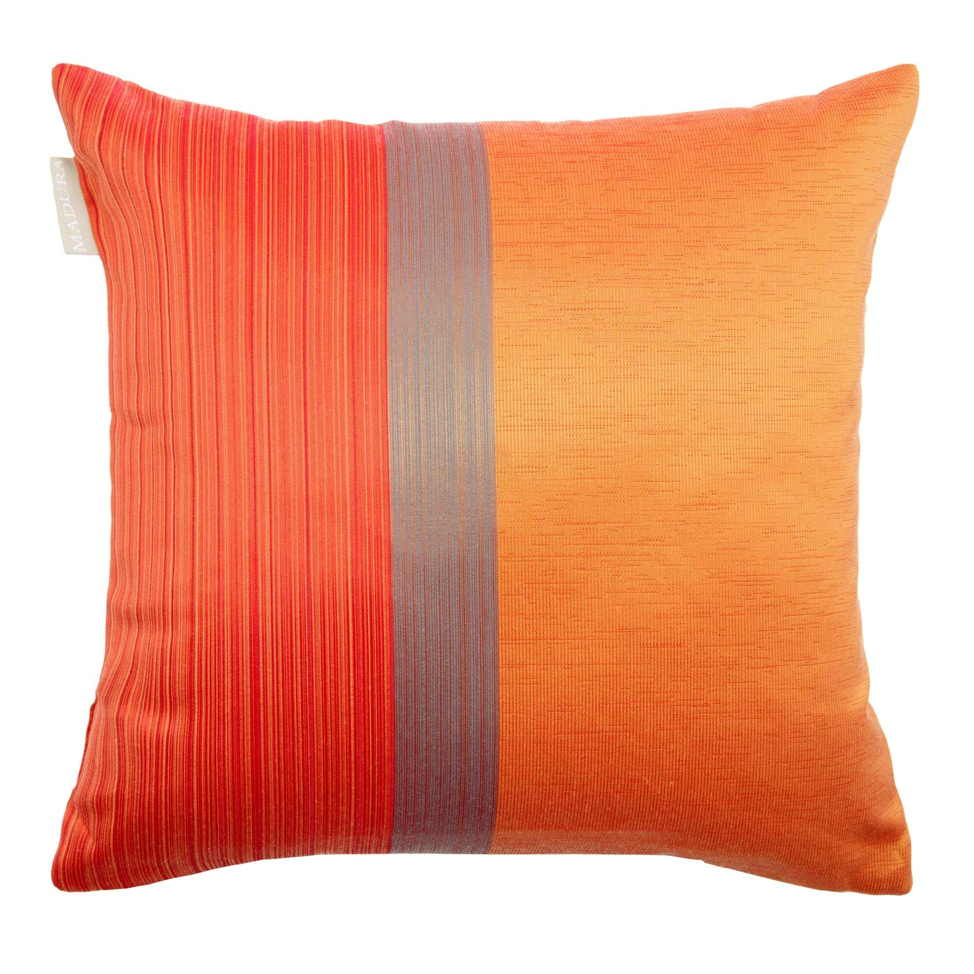Atina Pillow Cover Color: Gold, Size: 23.62