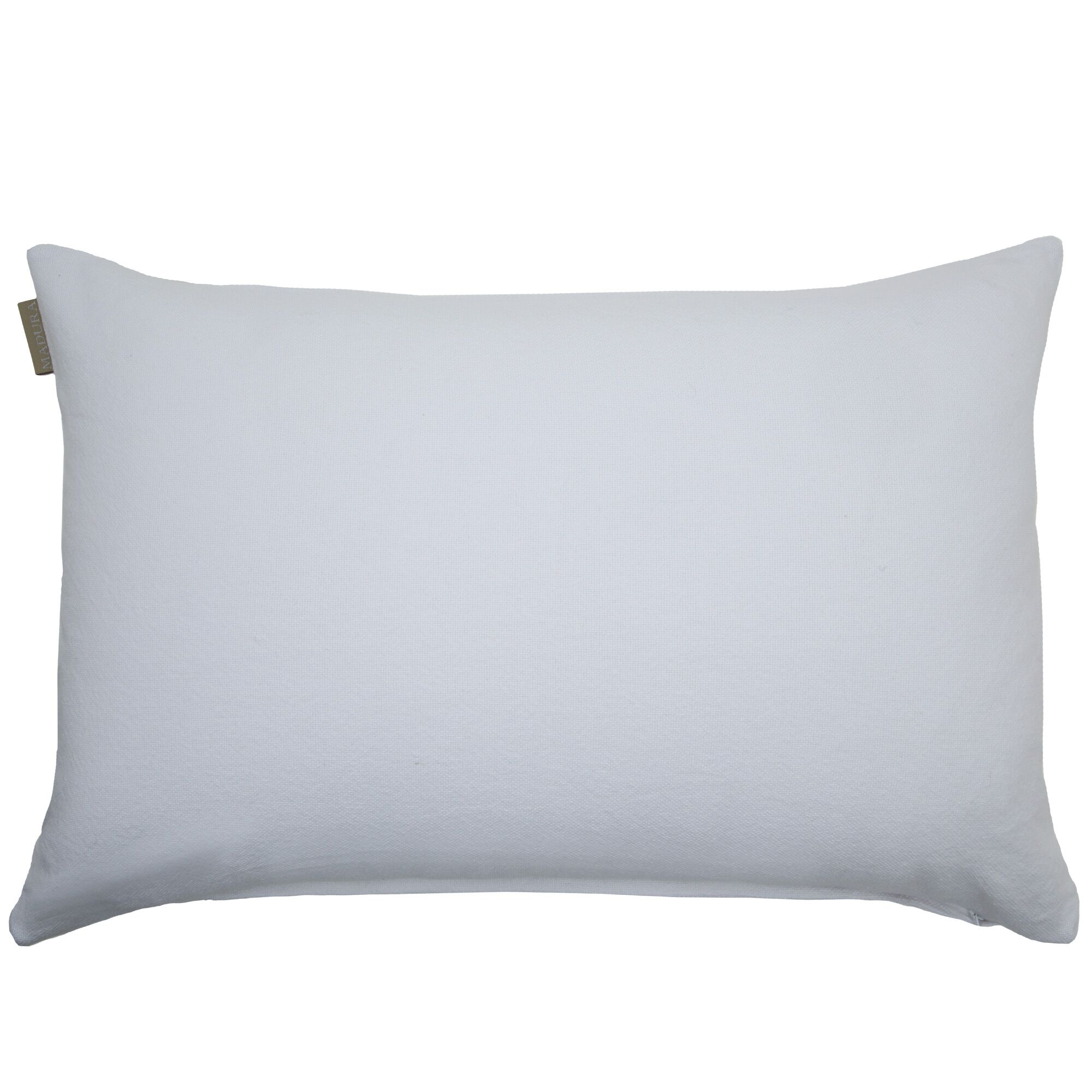 Amish Cotton Pillow Cover Color: White