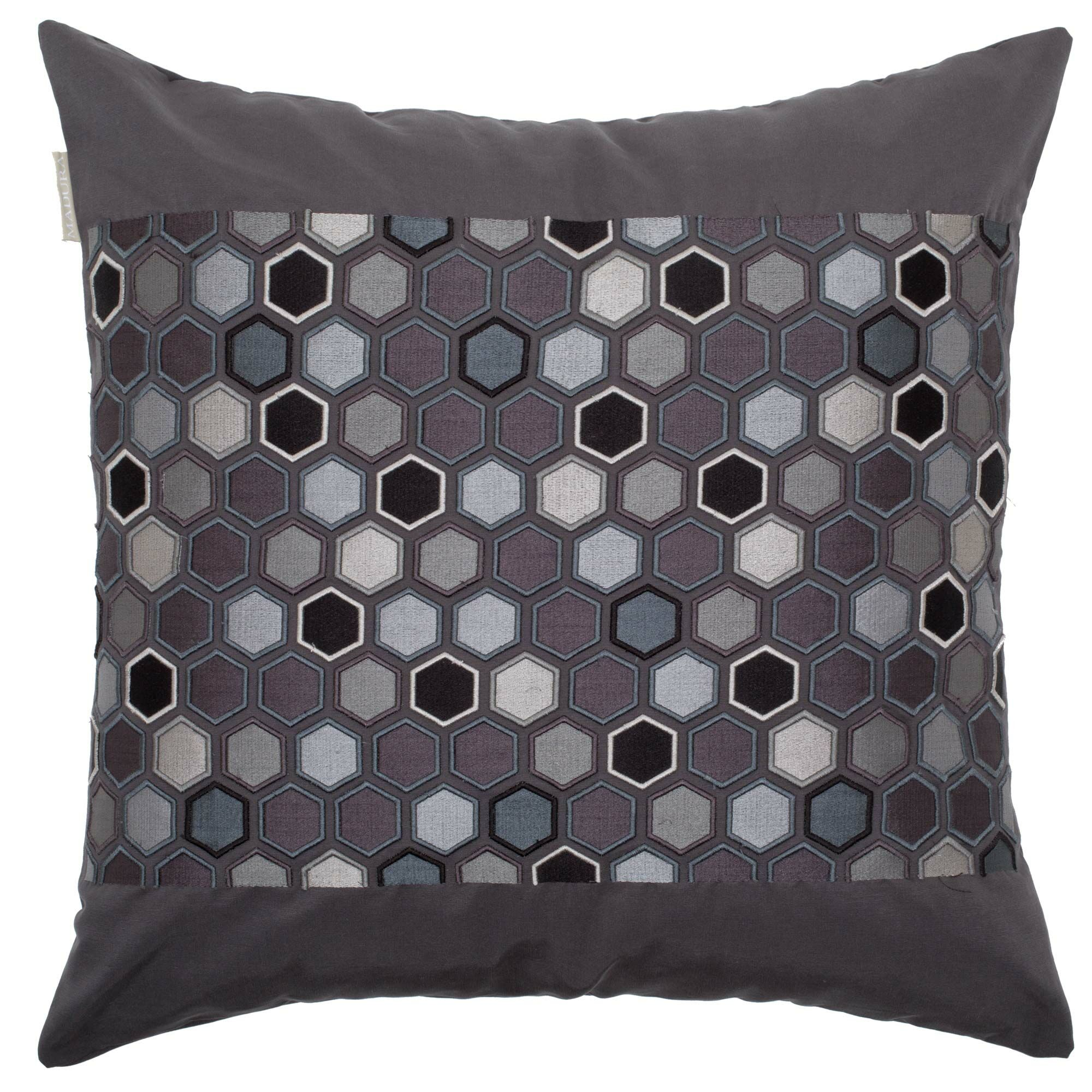 Honey Pillow Cover Color: Black