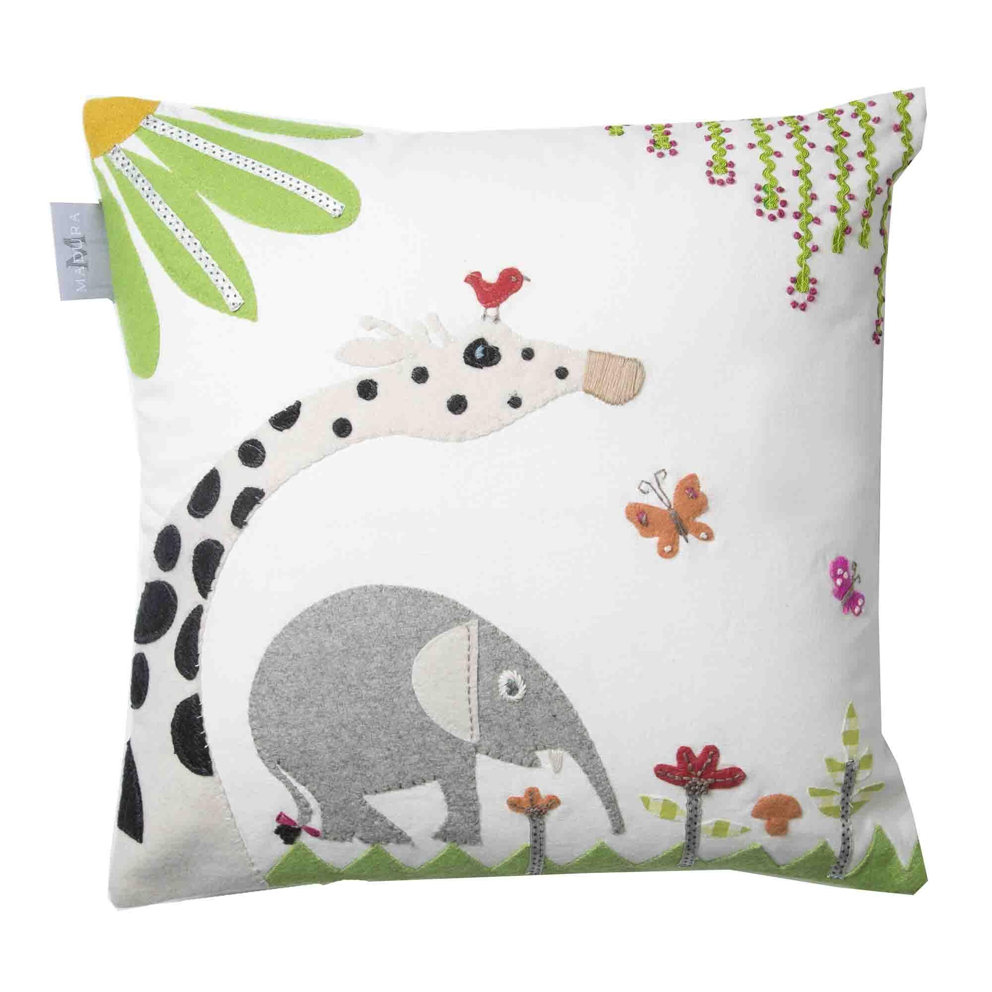 Jungle Cotton Pillow Cover