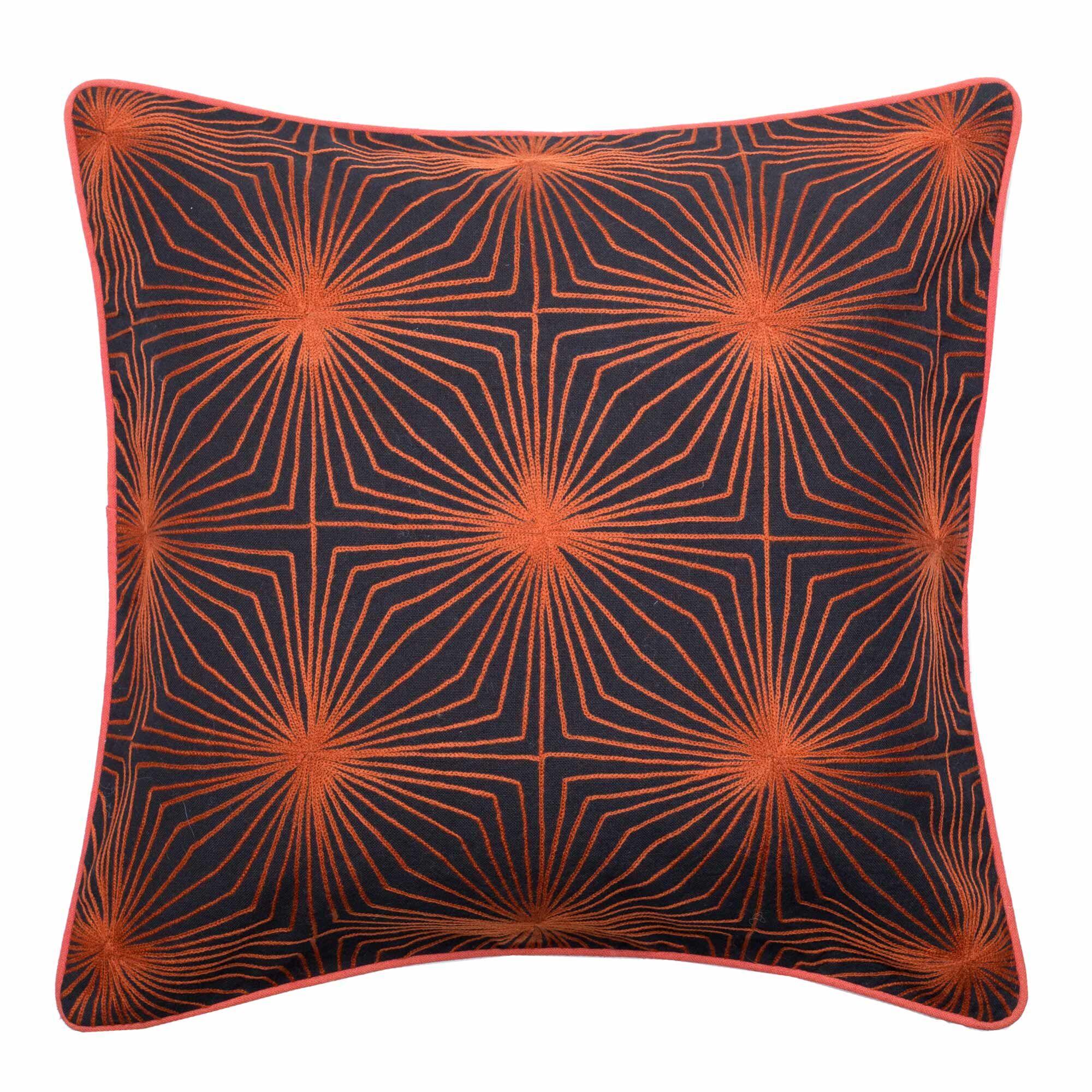 Paradoxe Pillow Cover Color: Paprika
