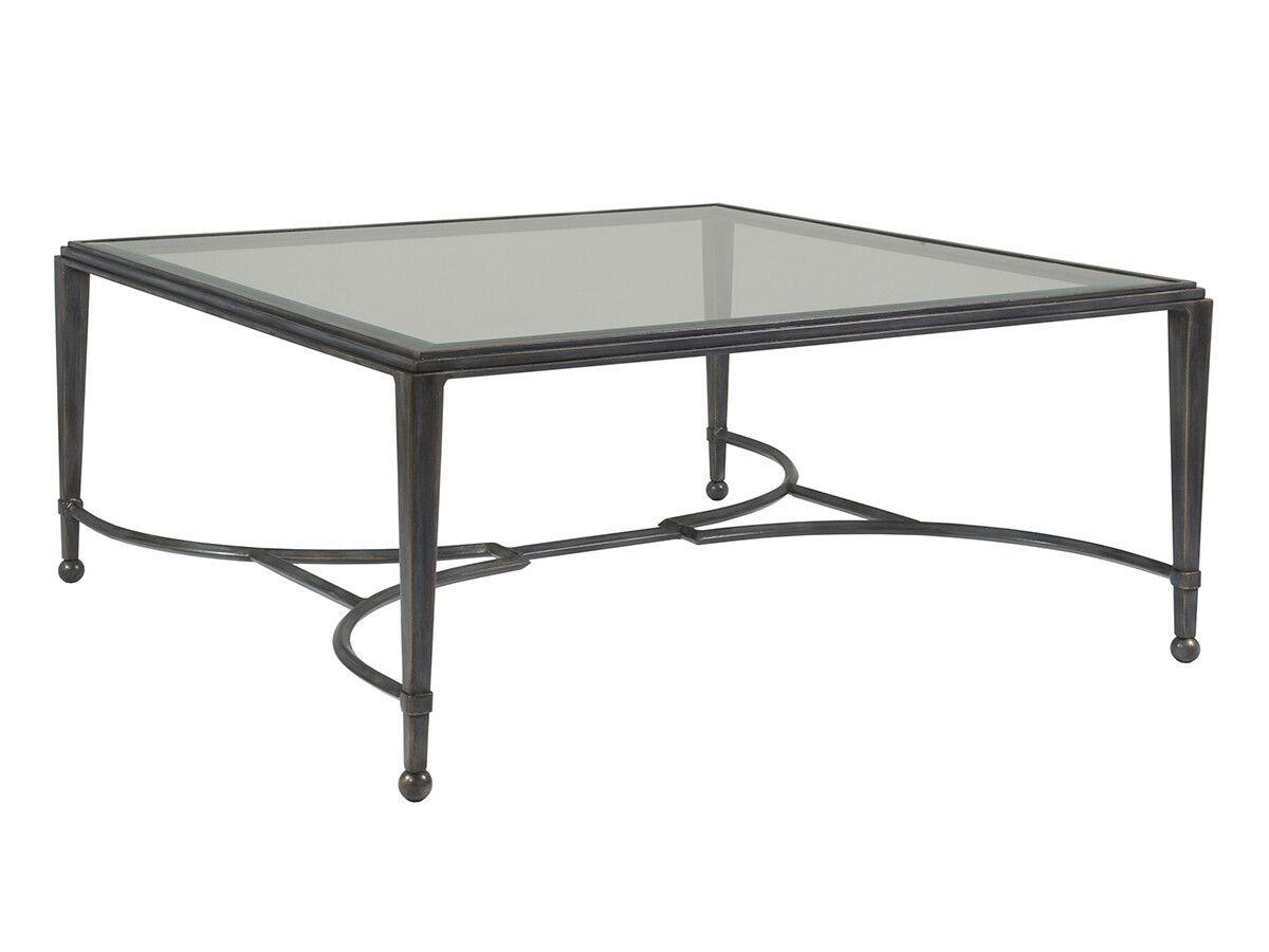 Metal Designs Coffee Table Table Base Color: Antique Copper