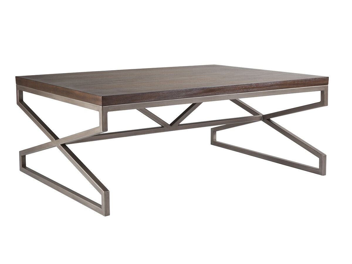 Cohesion Program Coffee Table Table Top Color: Marrone
