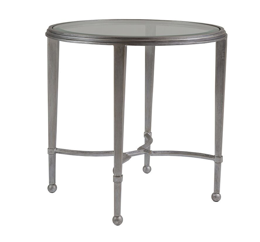 Metal Designs End Table Table Base Color: Antique Copper