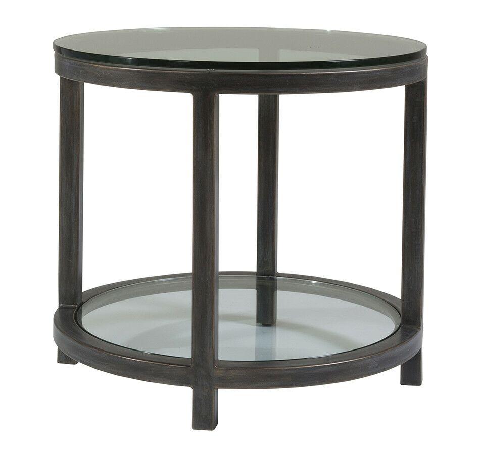 Metal Designs End Table Table Base Color: Antique Copper