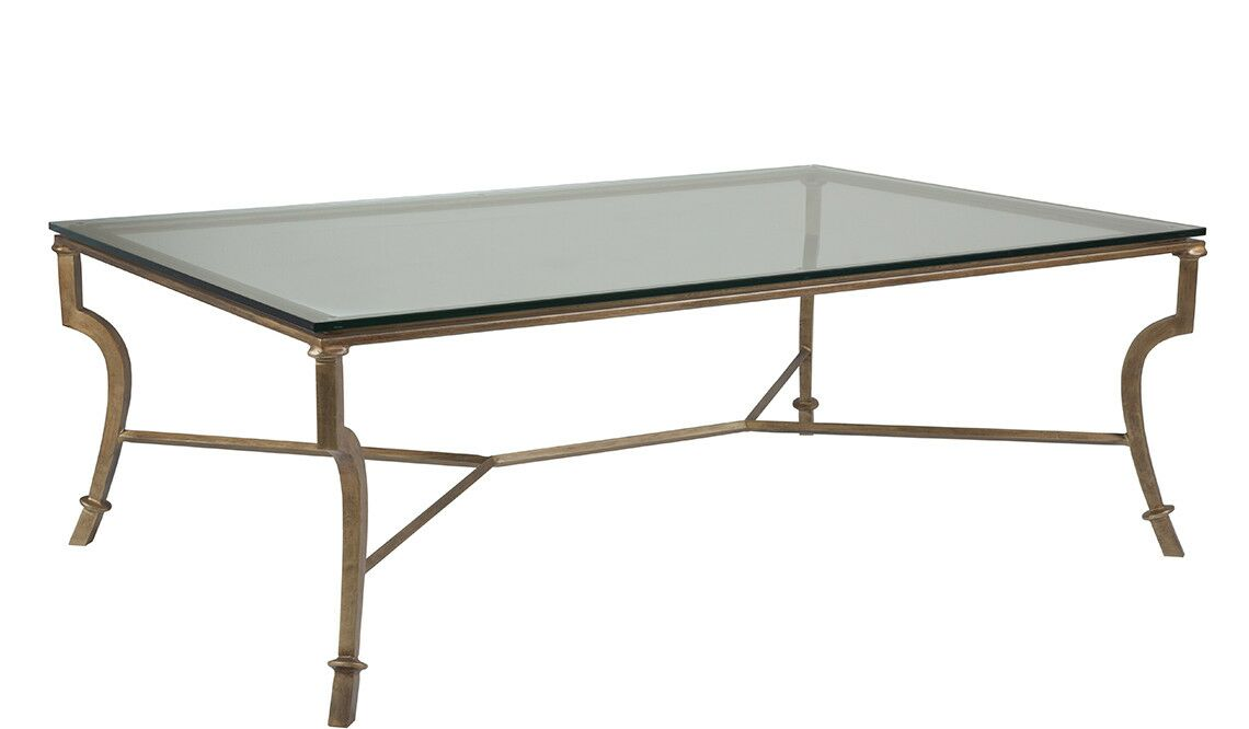 Metal Designs Coffee Table Table Base Color: Renaissance, Size: 19