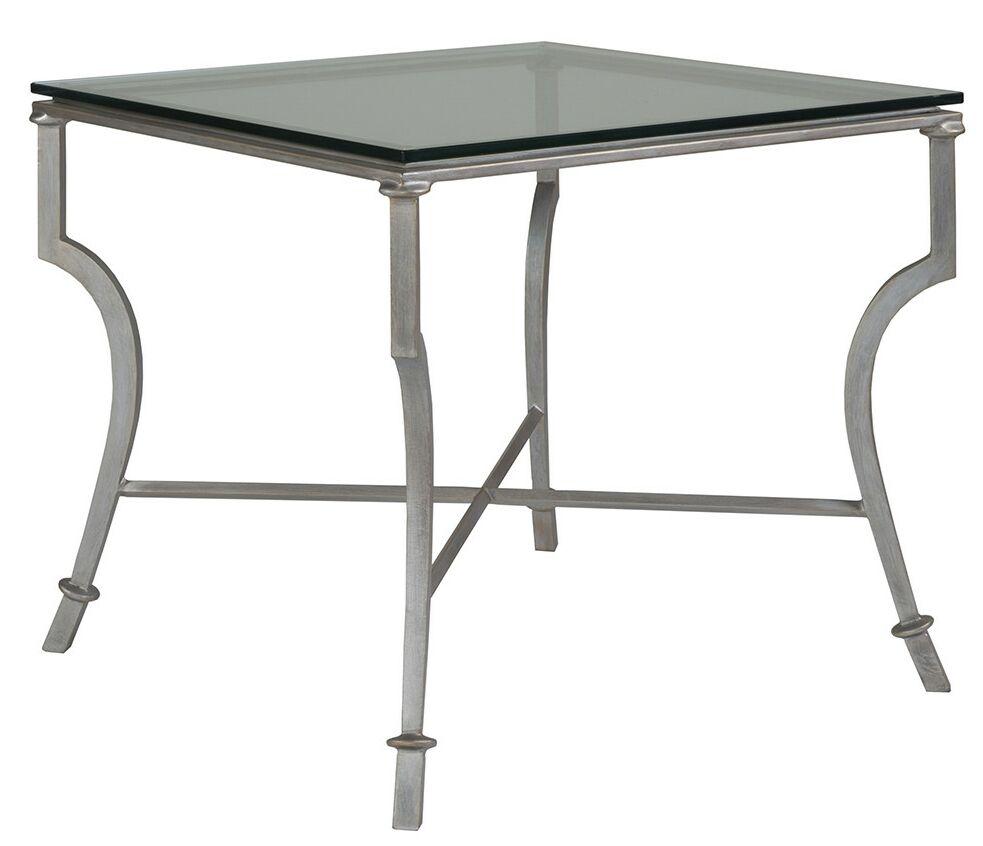 Metal Designs End Table Table Base Color: St. Laurent