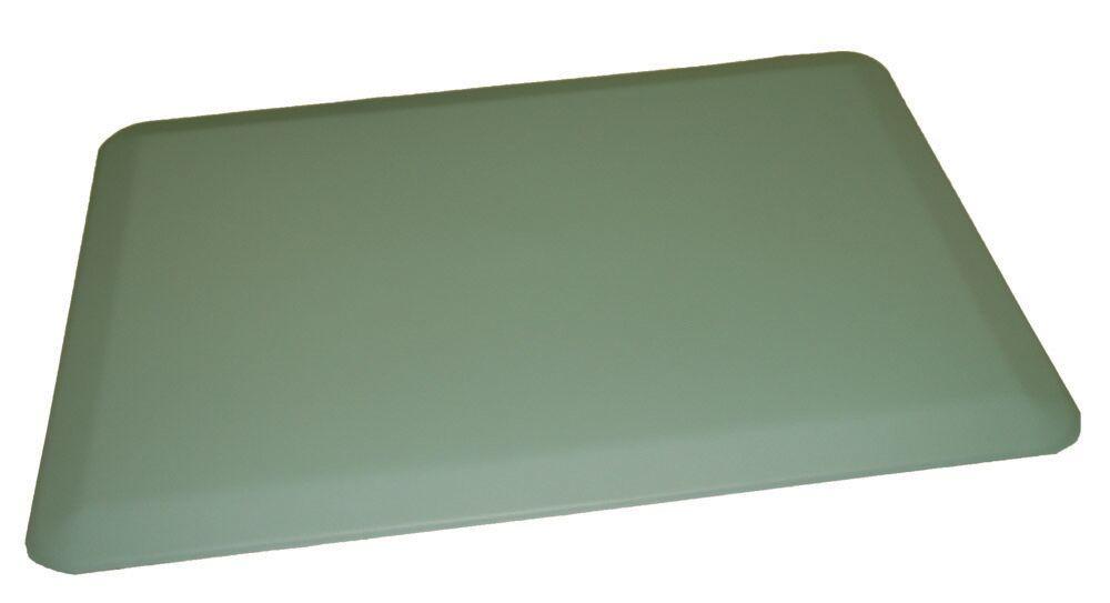 Anti-Fatigue Comfort Kitchen Mat Mat Size: 2' x 6', Color: Soft Blue
