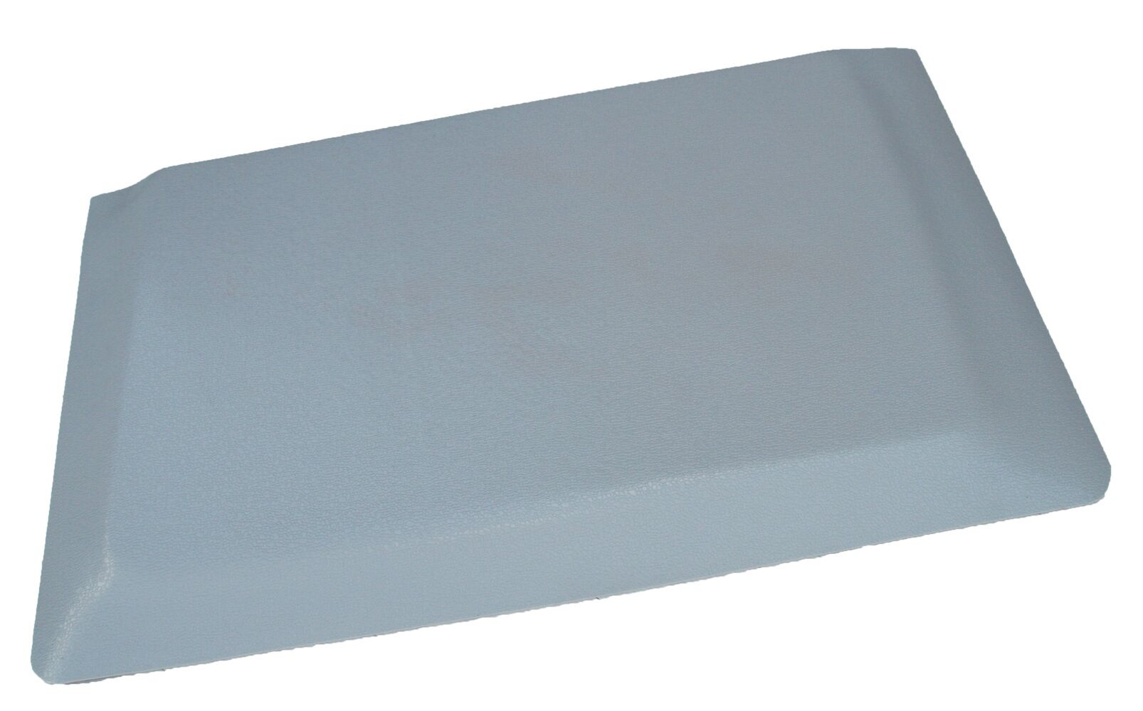 Hide Anti-Fatigue Comfort Kitchen Mat Color: Glossy Gray, Mat Size: 2' x 8'